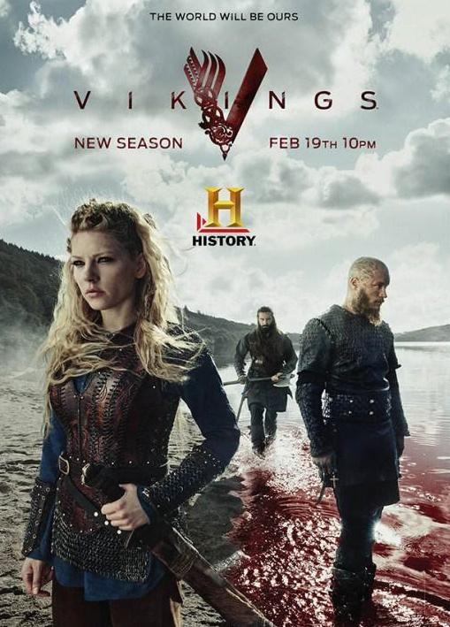 Vikings 3. Sezon Full Hd İzle