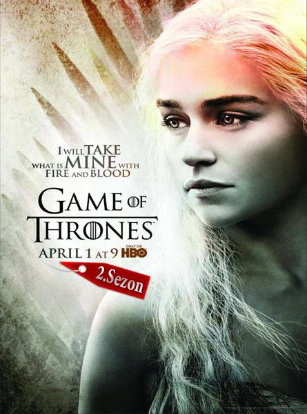 Game Of Thrones 2. Sezon Türkçe Dublaj HD izle