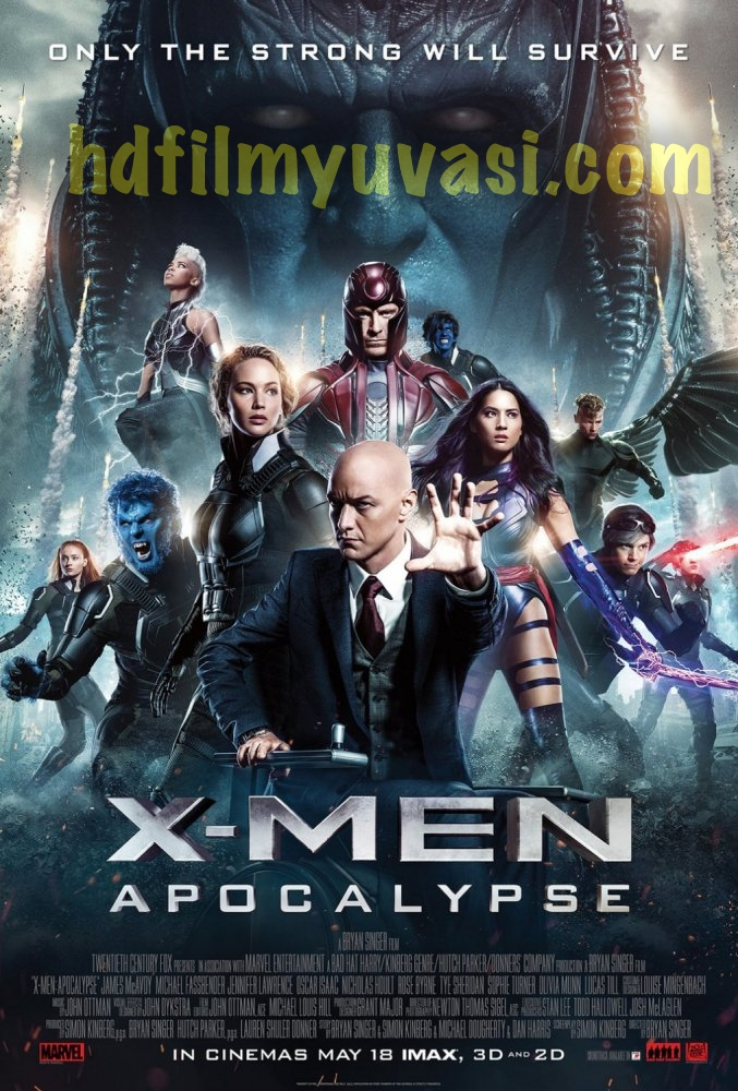 X-Men Apocalypse Hd izle, 720p AltYazılı