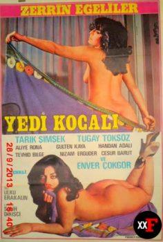 Yedi Kocalı 1977 Zerrin Egeliler Erotik Film izle